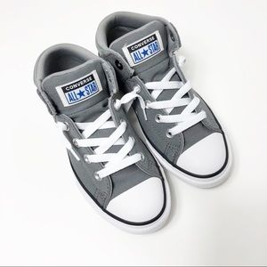 NWT Converse gray sneakers